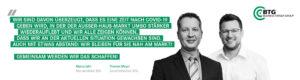 Marco Jahn und Thomas Meyer - gemeinsam schaffen wir das!