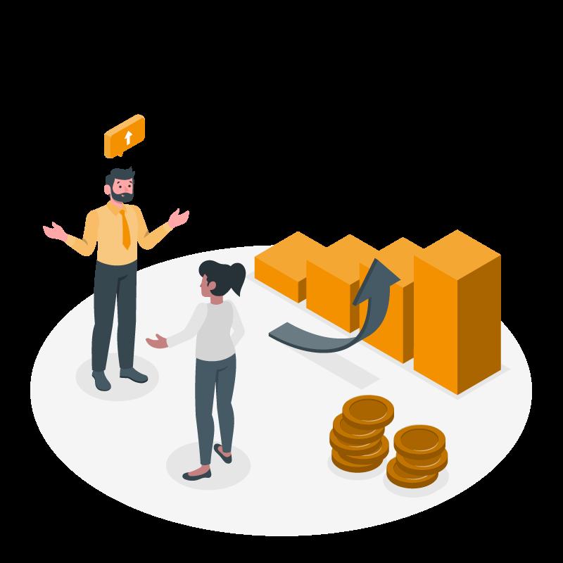 Business Target Group: Verkauf von Produkten & Dienstleistungen