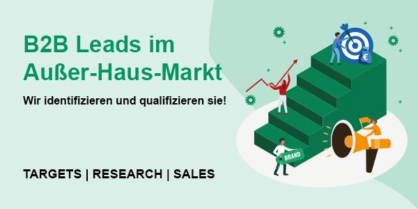 B2B Leads im Außer-Haus-Markt